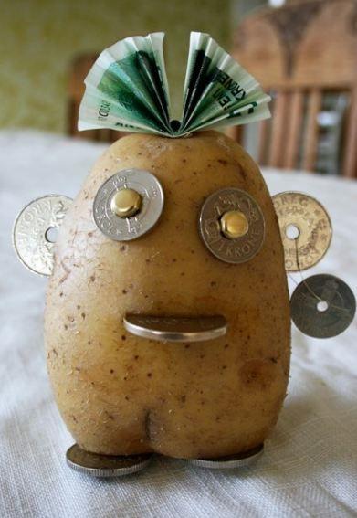 A fun way to give money as a present - moneypotato ...