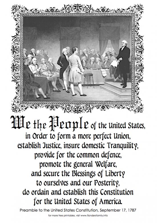 constitution preamble to the constitution history constitution ...