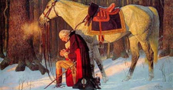 george washington praying high resolution - Google Search | Red, White, & Blue | Pinterest ...