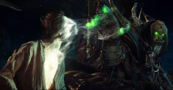 Gul'dan Life Drain | Warcraft | Pinterest | Life