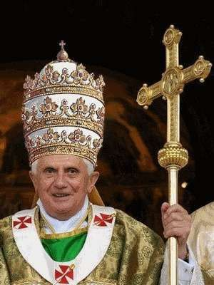 The papal tiara is a crown that was worn by popes of the Roman Catholic Church from as early as the 8th century to the mid-20th. It was last used by Pope Paul VI in 1963 and only at the beginning of his reign. - Wikipedia
