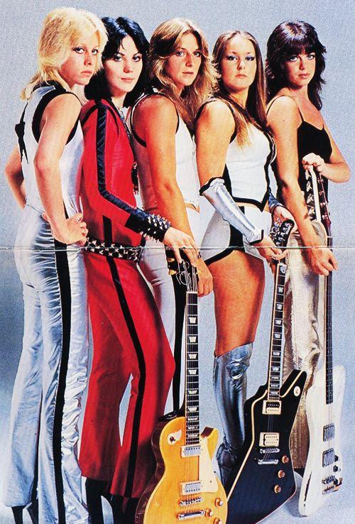 """The Runaways"" were : Joan Jett,Jackie Fox,Lita Ford,Sandy ..."