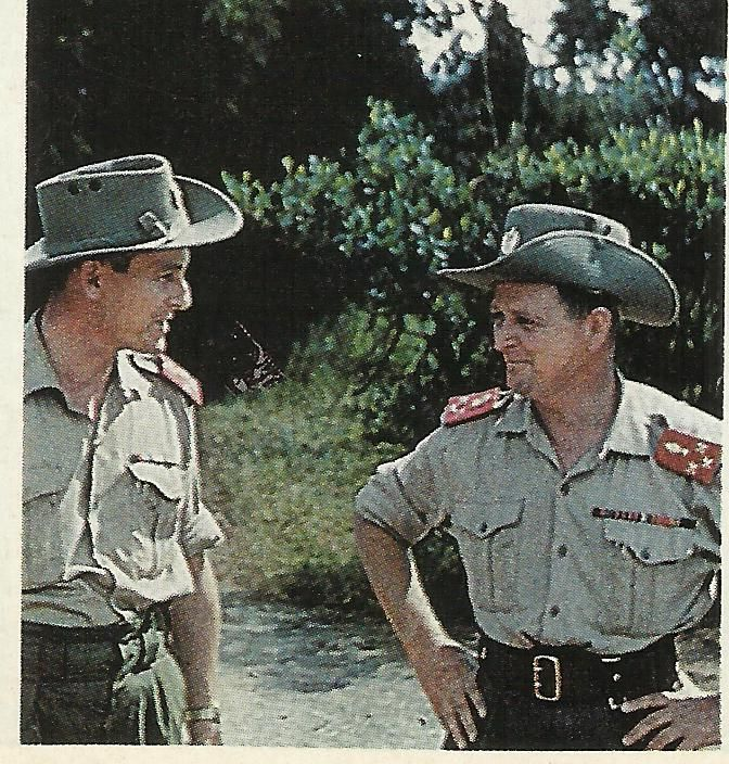 Mike Hoare commander of 5 Commando   Congo Crisis ...