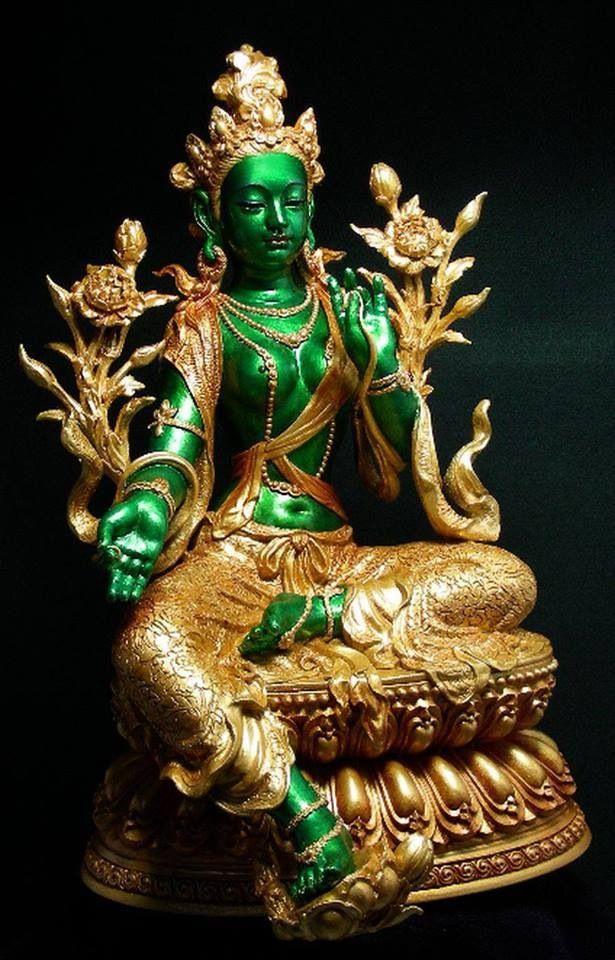 1000+ ideas about Green Tara on Pinterest | Buddhist art, Kali goddess and Hindu art