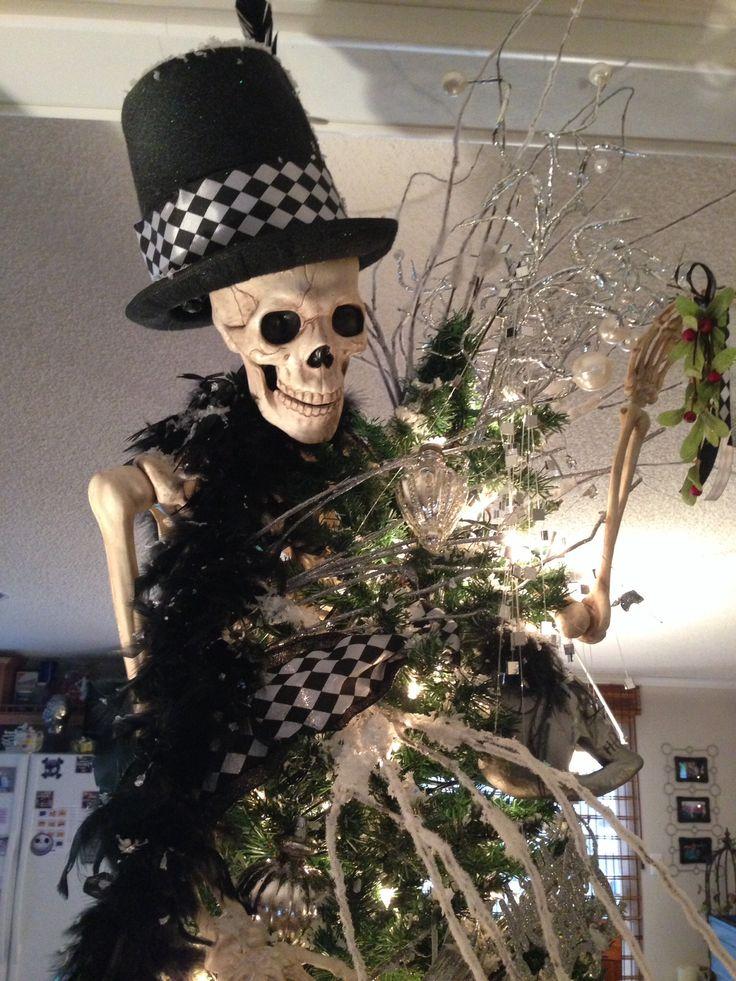 Skull/skeleton Christmas Tree! | Skull Christmas Tree ...