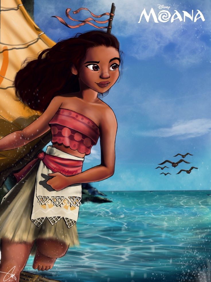 ... Meka — Just wrapped up this fan art for the 2016 Disney movie Moana