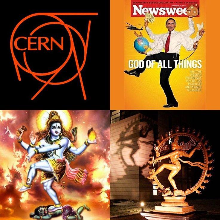 Cern, goddess Shiva ... and Obama posing like Shiva ...