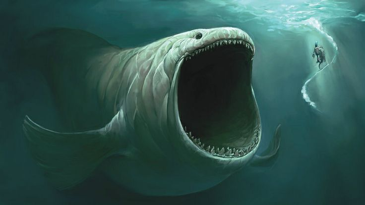 Leviathan- biblical symbol: an enormous aquatic creature ...