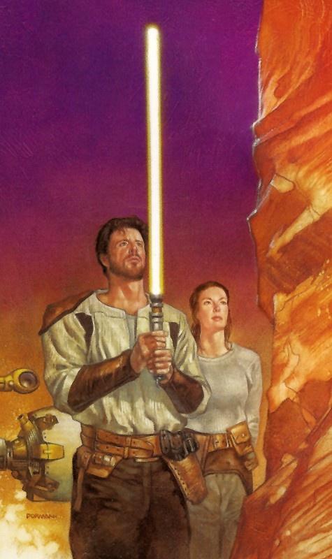 Kyle Katarn illustration from 'Dark Forces: Jedi Knight ...