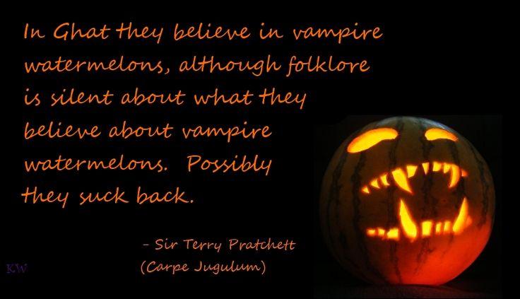 Discworld quote by Terry Pratchett, Carpe Jugulum, by Kim White ...