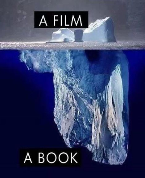 I couldn't have said it better: Book vs. Movie | Bookworm | Pinterest | Bridget jones, Its ...