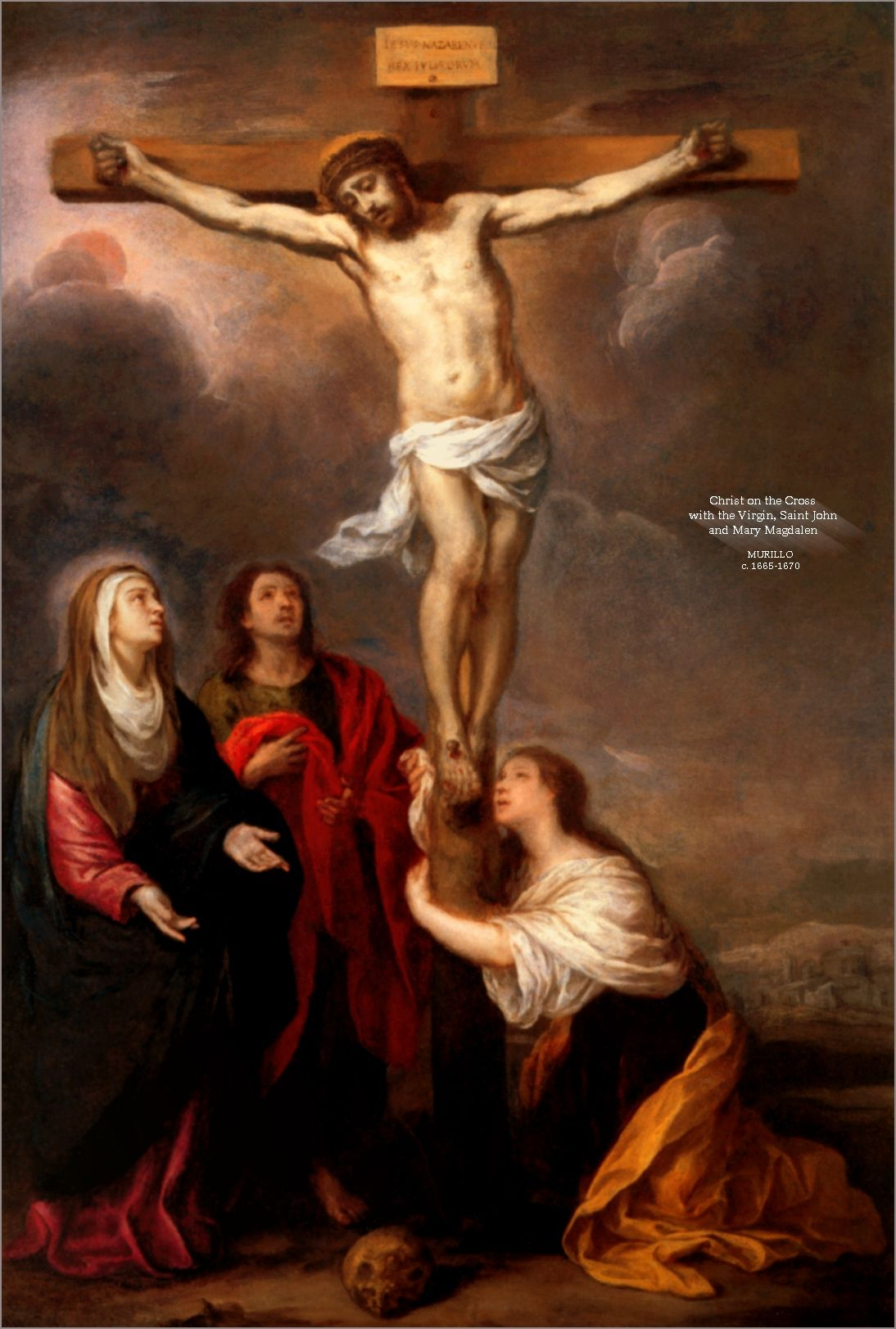 Mary Magdalene | Crucifixion with St. Mary Magdalen ...