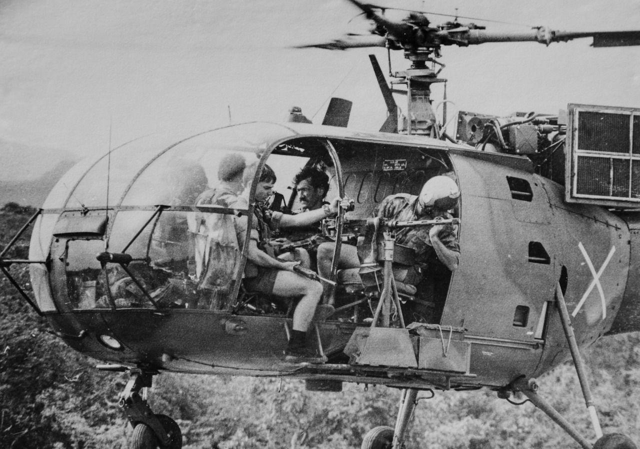 #FireForce #RLI #RhodesianArmy #AlouetteIII | Rhodesian ...