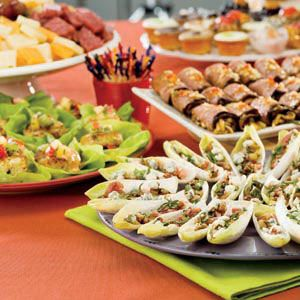 Appetizer Buffet ideas. Recipes need tweaking for paleo | Paleo Party ...