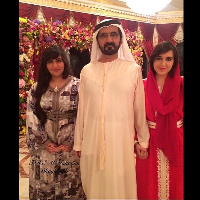 Latifa Bint Rashed Bin Khalifah Al Maktoum, Mohammed Bin ...