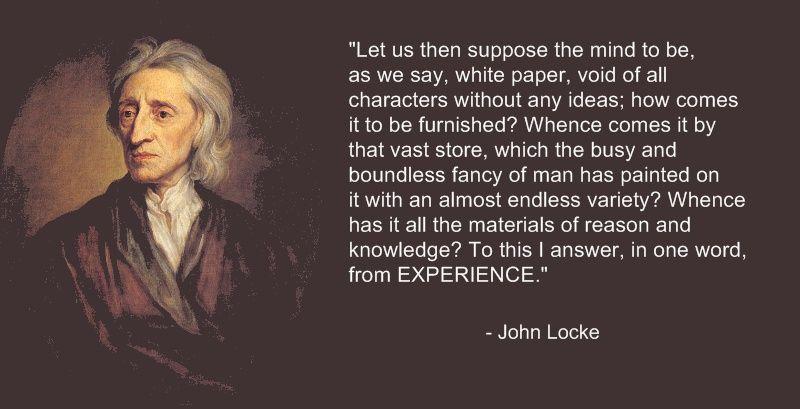John Locke - The Tabula Rasa | Philosophy Quotes ...