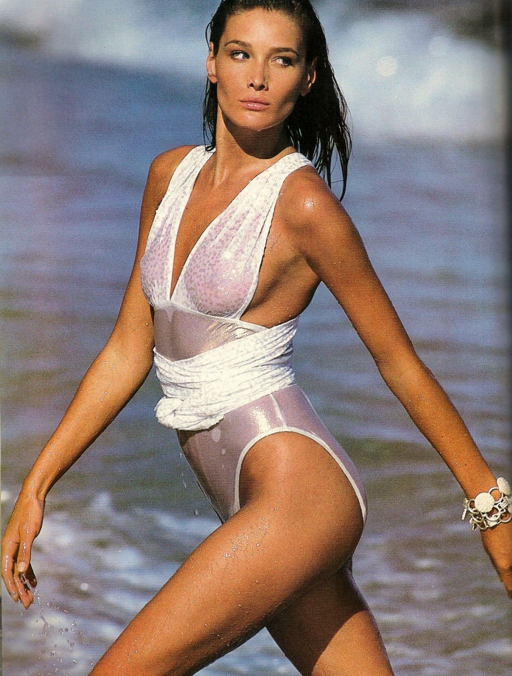 Carla Bruni by Gilles Bensimon, 1991 | remember it ...