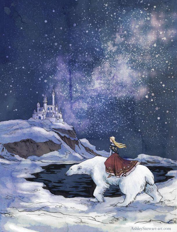 East of the Sun West of the Moon   Fairy Tale Heart ...