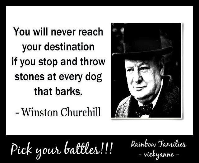 Pick And Choose Your Battles Quotes. QuotesGram