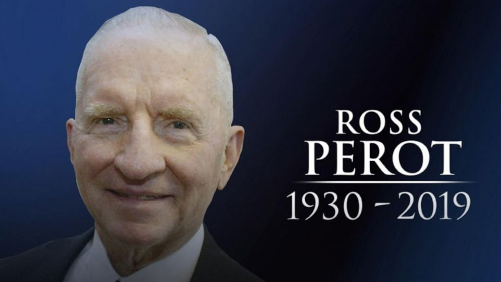 Ross Perot, former presidential candidate, dies at age 89 ...