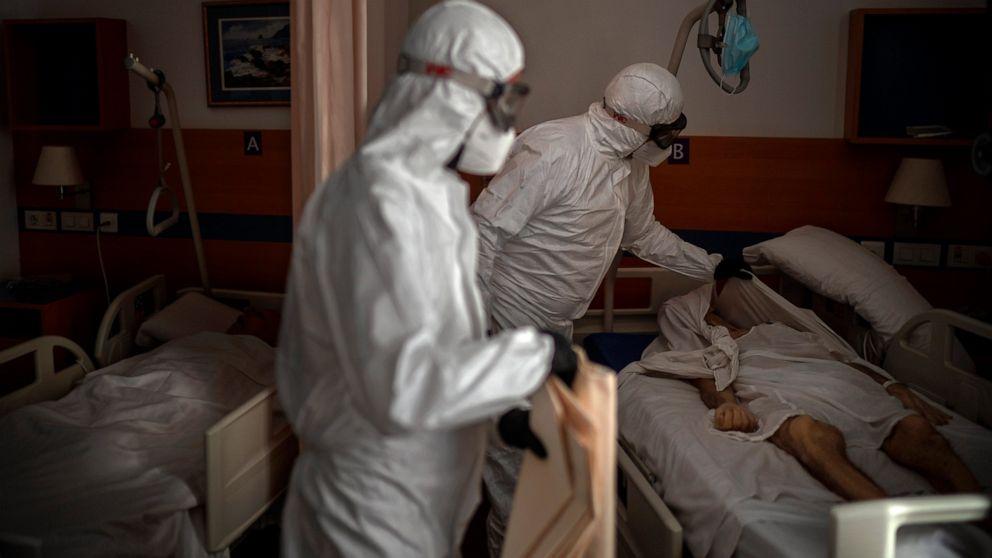 Europe battles surge in coronavirus deaths in nursing ...