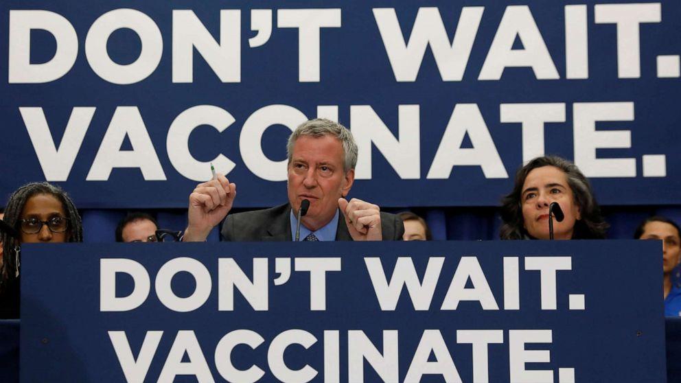 New York City declares public health emergency as measles ...