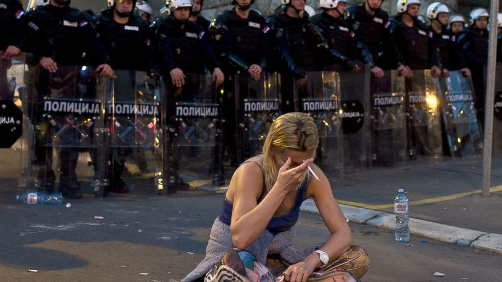 Serbian students rally over anti-govt protest detentions ...