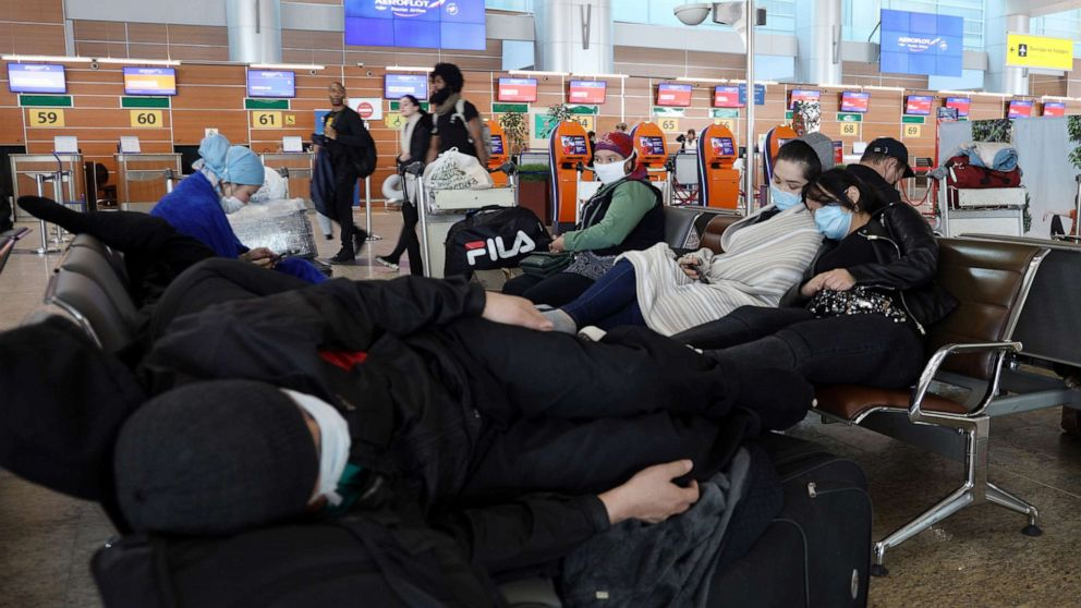 Americans stuck as last flight out of Russia stopped on tarmac…