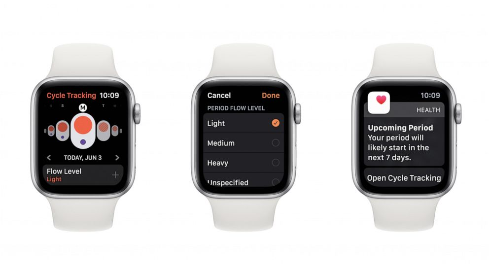 Apple Watch OS 6 will feature a menstrual period tracker ...