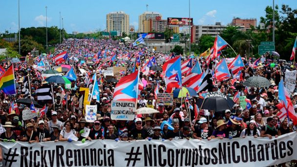 'We need him out': Protesters demand Puerto Rico governor ...