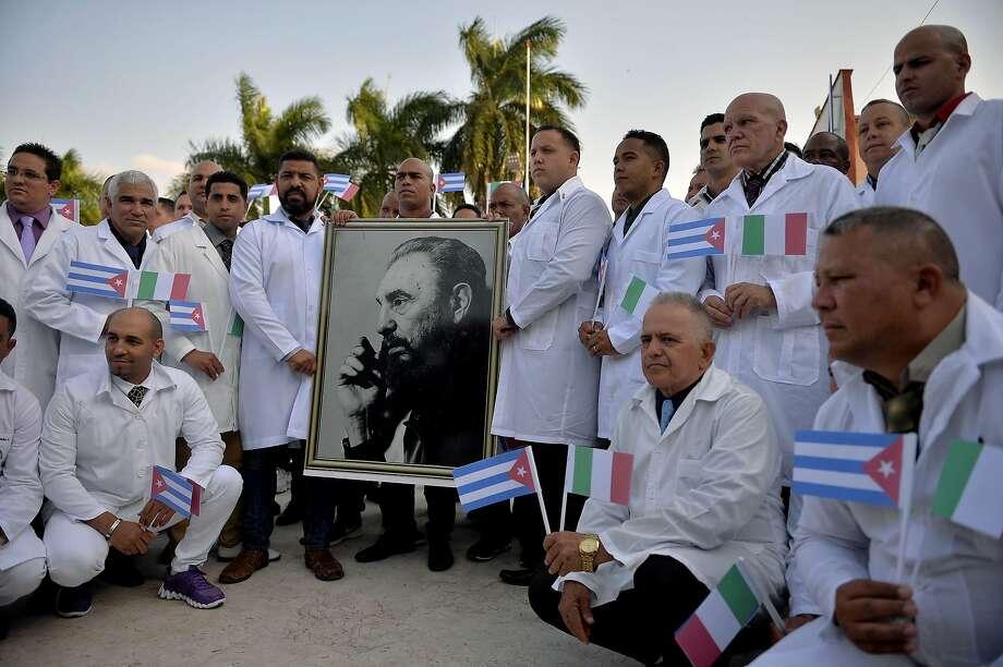 Cuban doctors fight coronavirus outbreak around globe - SFGate