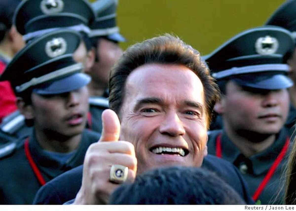 Schwarzenegger urges world to depend less on oil ...