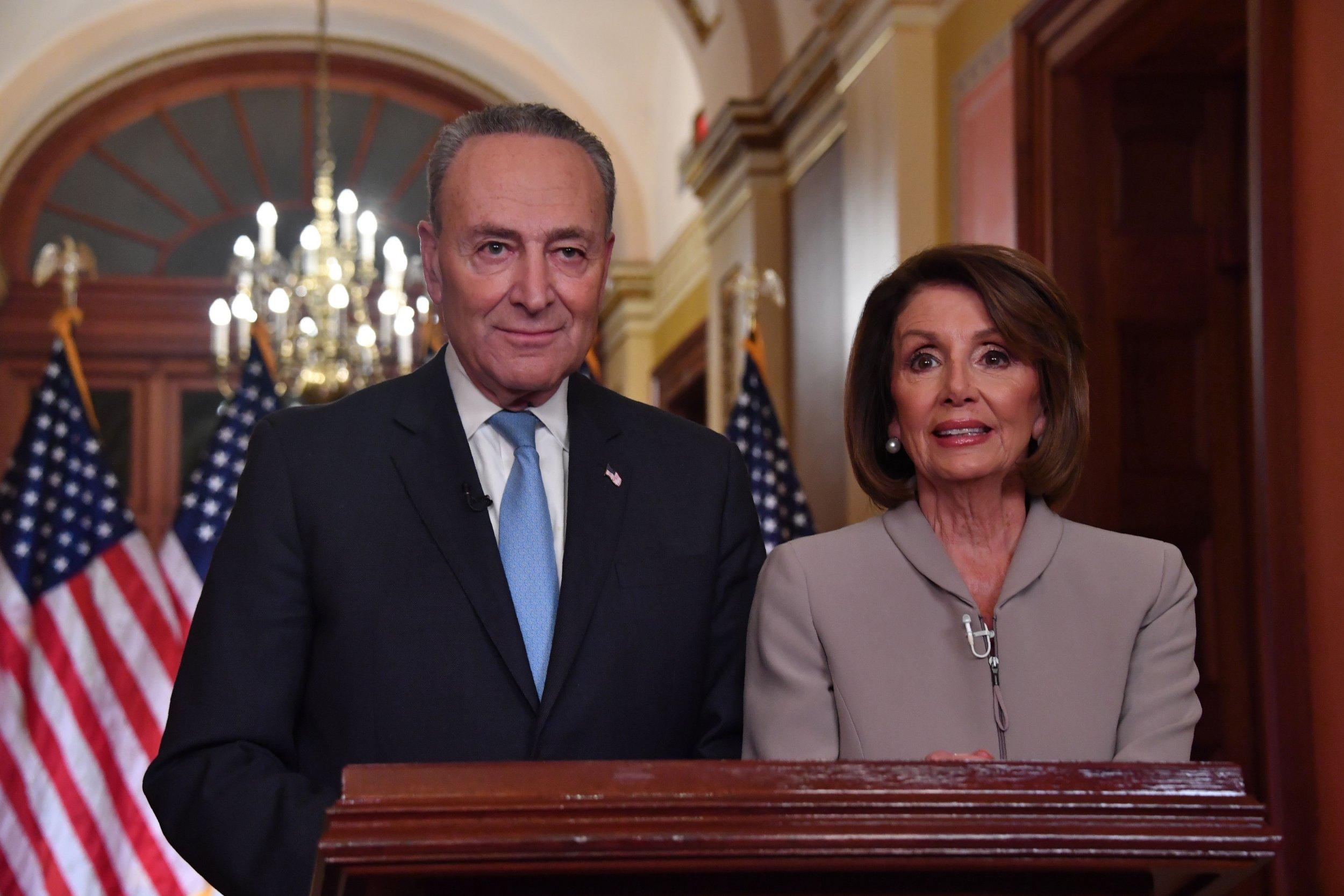Pelosi, Schumer Respond to Trump Border Address: 'We Don't ...