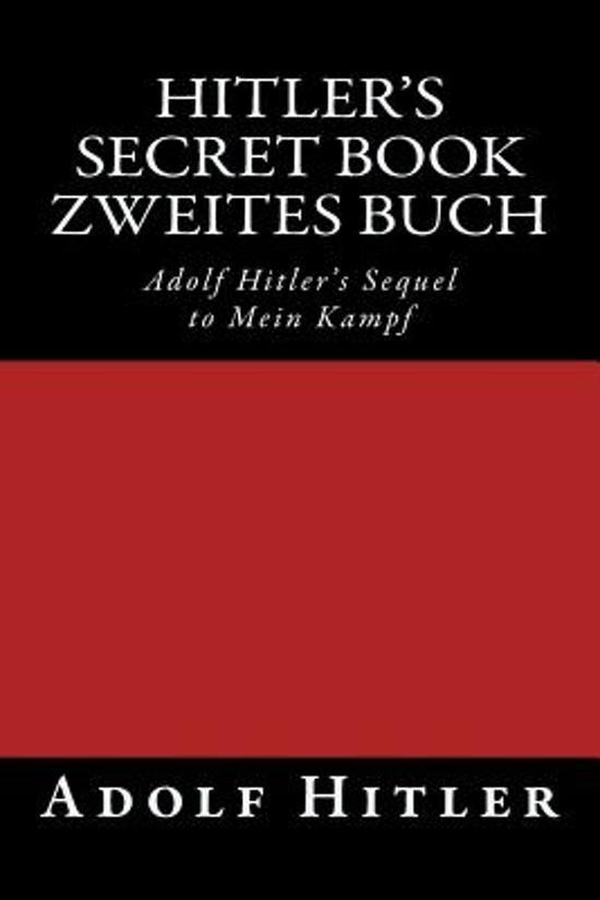 bol.com | Zweites Buch (Hitler's Secret Book ...