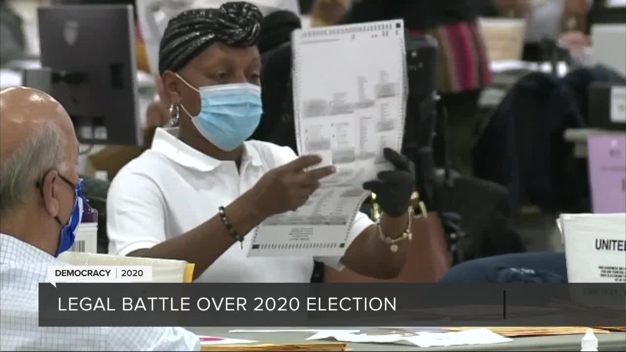 Legal battle over 2020 election