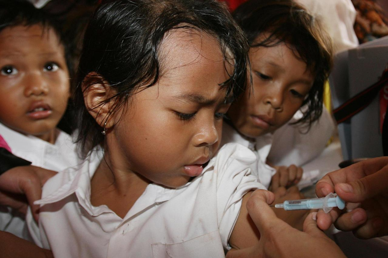 Indonesia Will Revaccinate 'Millions' of Children After ...