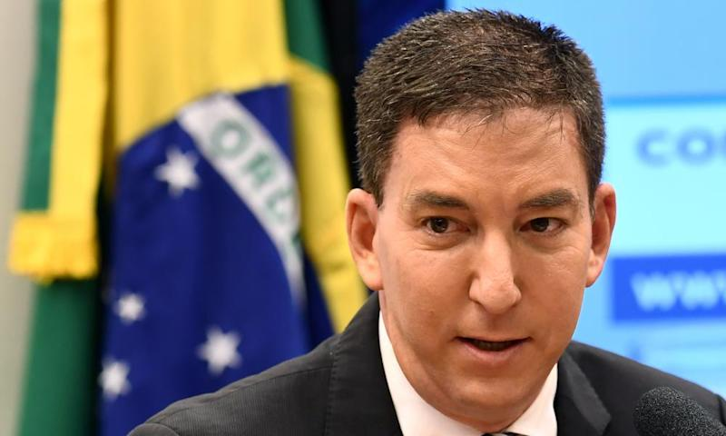"Brazil Charges Journalist Glenn Greenwald with being part of a ""criminal organization"" that hacked into the cellphones of public officials last year…"