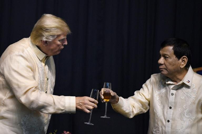 Philippines' Duterte says Trump deserves to be re-elected…