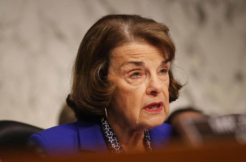Feinstein spoke to FBI about her husband's stock trades, handed over documents…
