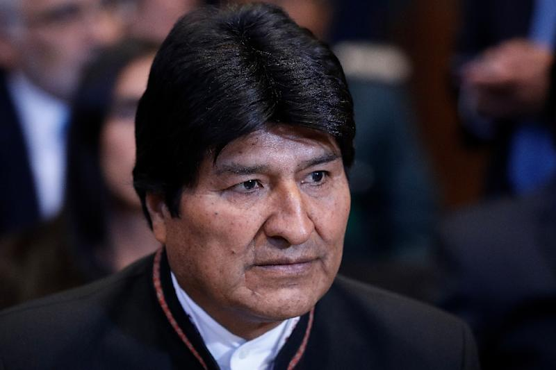Former Bolivian leader Morales was afraid US offer to fly him out of Bolivia would instead end in Guantanamo…