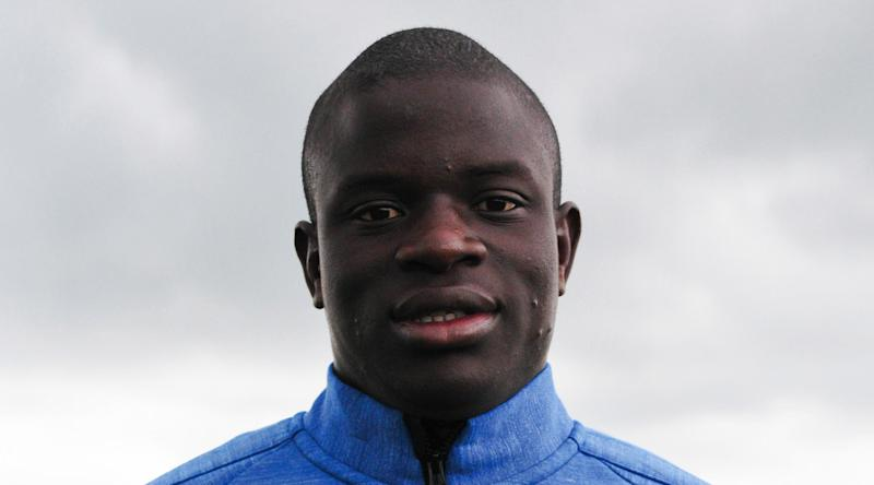 The 26-year old son of father (?) and mother(?), 169 cm tall N'Golo Kanté in 2017 photo
