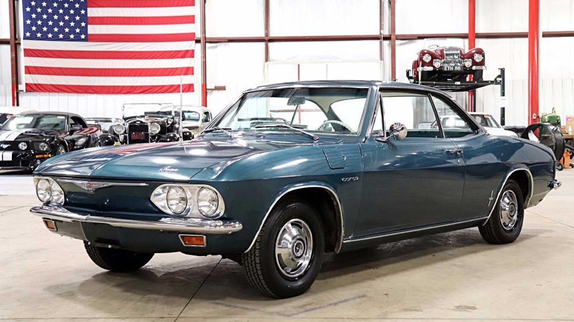 Original And Rare: 1965 Chevrolet Corvair Corsa Turbo Coupe