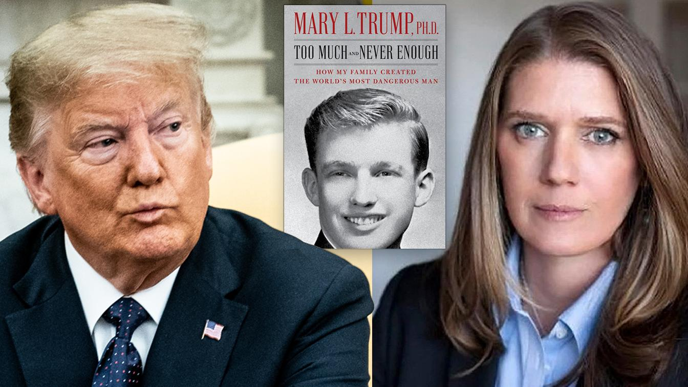Mary Trump's book chronicles how a dysfunctional family 'created the world's most dangerous man'