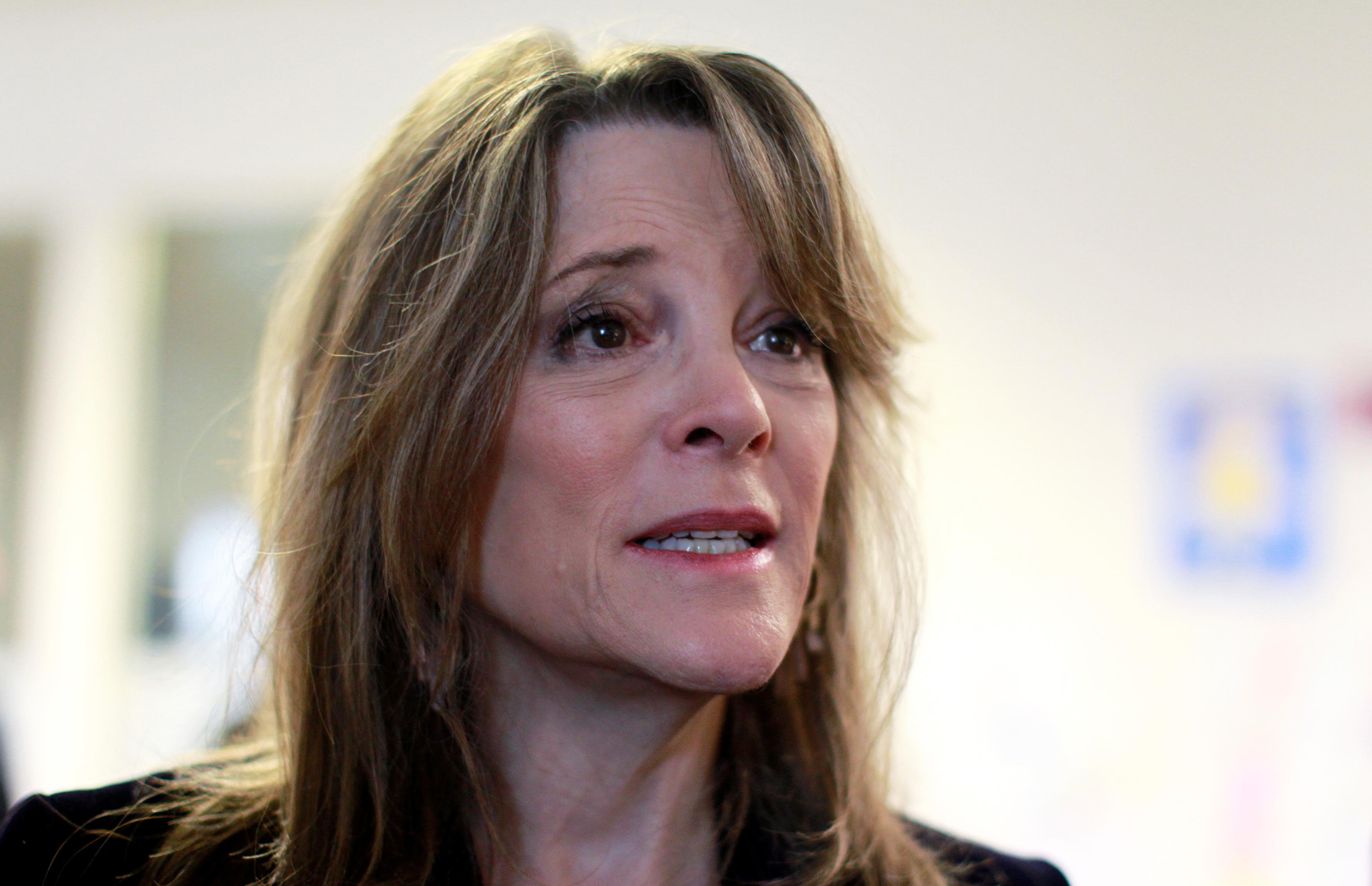 Marianne Williamson lays off entire campaign staff…