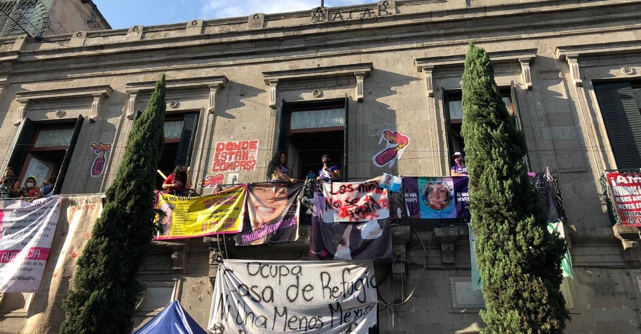 Frente Ni Una Menos anuncia salida de ocupación en CNDH ...