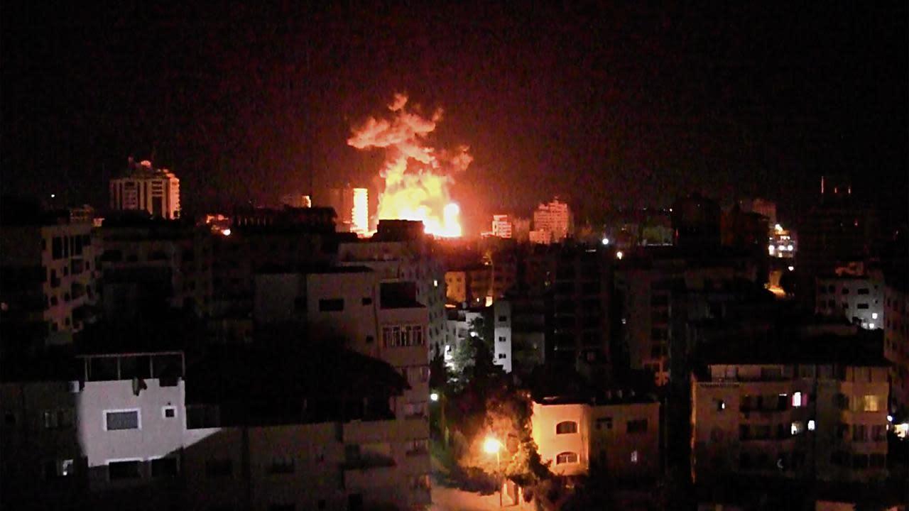 Air strike kills jihad commander in Gaza