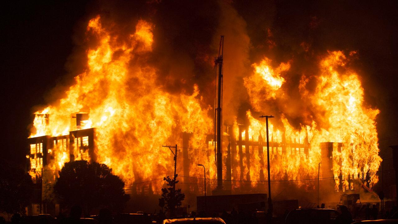Fires Break Out in Minneapolis Amid Protests Over George ...