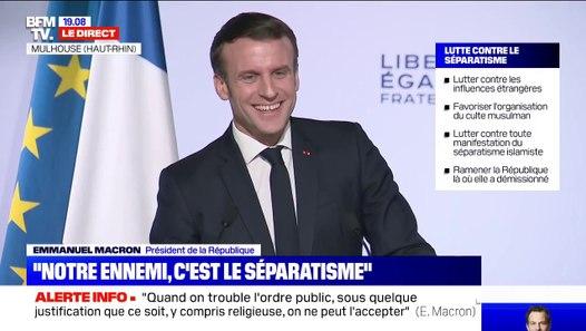 La plaisanterie d'Emmanuel Macron face à un jeune homme ...