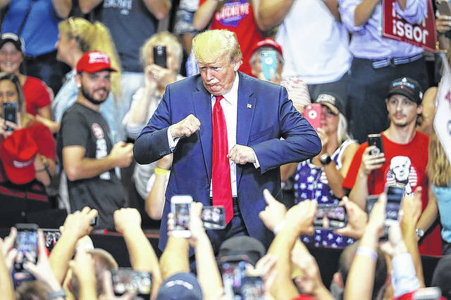 Trump holding North Carolina rally the night before primary | Richmond County Daily Journal