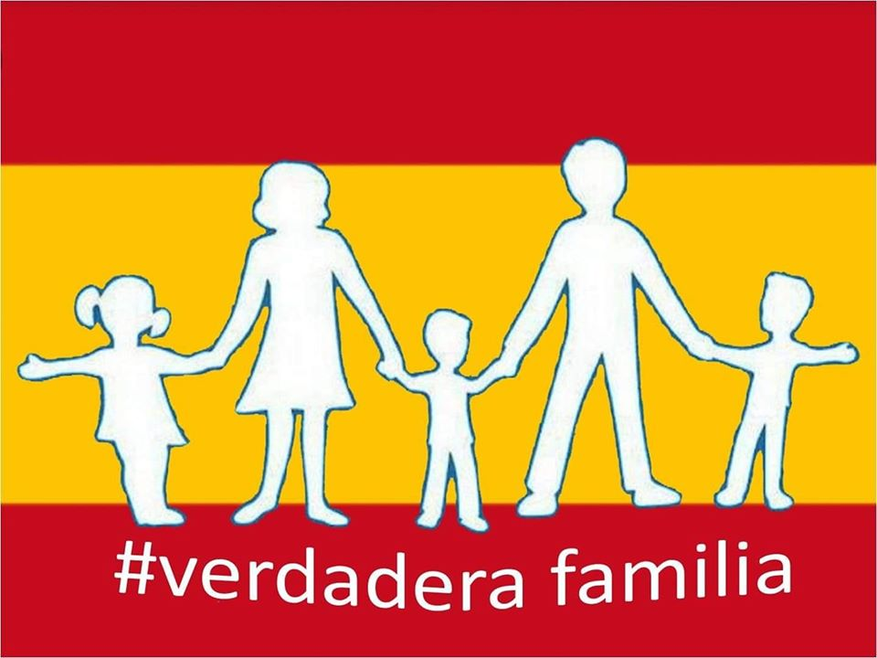 Mi orgullo es la verdadera familia ¡Resiste España! Por ...